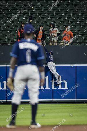 Editorial photo of Tampa Bay Rays v Baltimore Orioles, MLB baseball game, Baltimore, USA - 24 Apr 2017