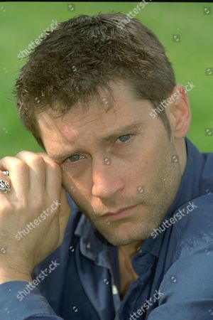 2/4/97 Male Model Adam Perry Former Athena Poster Model Near His Clapham Home. Perry Claims To Have Slept With 3 000 Women.