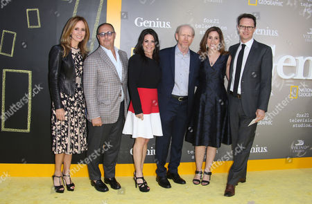 Dana Walden, Bert Salke, Courtney Monroe, Ron Howard, Carolyn Bernstein, Peter Rice