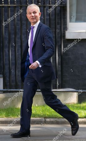 Stock Picture of David Lidlington, Leader of the House of Commons, arrives for the political cabinet meeting