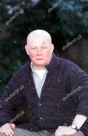 Stock Image of Brian Glover Actor At American Church In Tottenham Court Road