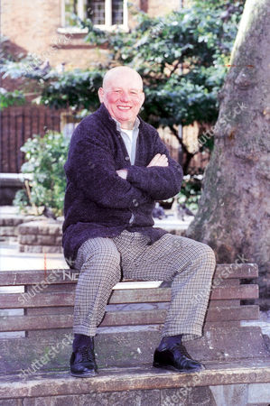 Stock Image of Brian Glover Actor At The American Church In Tottenham Court Road London