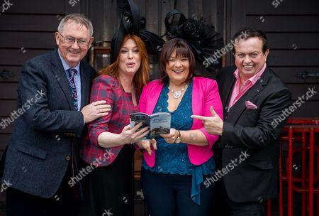 RTE's Sean O'Rourke, Blathnaid Ni Chofaigh, Brenda Donoghue and Marty Morrissey