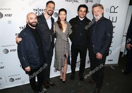 Editorial photo of 'The Sinner' screening, Arrivals, Tribeca Film Festival, New York, USA - 25 Apr 2017