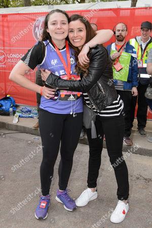 Megan Ramsay with her mother Tana Ramsay
