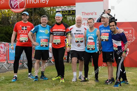 Editorial photo of London Marathon, Greenwich Park, London, UK - 23 Apr 2017