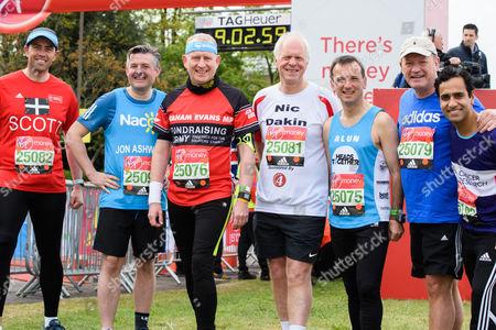 Stock Image of Scott Mann MP (Conservative, North Cornwall), Jonathan Ashworth, Graham Evans MP (Conservative, Weaver Vale),  Nic Dakin, Alun Cairns (Conservative, Vale of Glamorgan), Simon Danczuk and Rehman Chishti