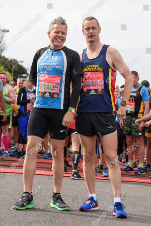 Rob Deering (comedian, broadcaster and podcaster running for Parkinsons UK) and Paul Tonkinson (stand-up comedian running for Parkinson?s UK)