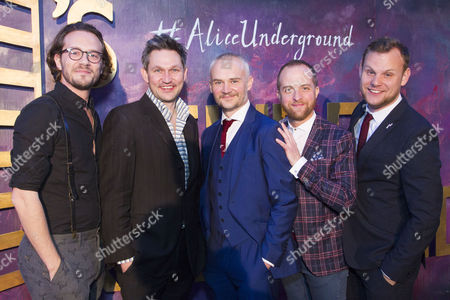 Anthony Spargo (Author), James Seager (Director/Producer), Oliver Lansley (Director/Author/Producer), Roddy Peters (Assistant Director) and Joe Hufton (Associate Director)