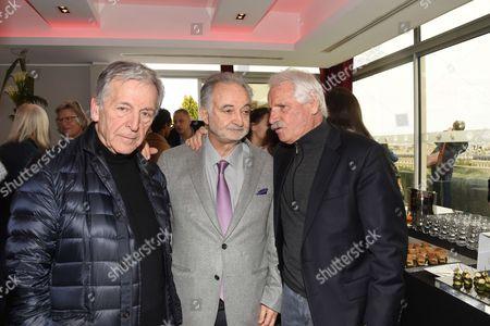 Costa-Gavras, Jacques Attali and Yann Arthus-Bertrand