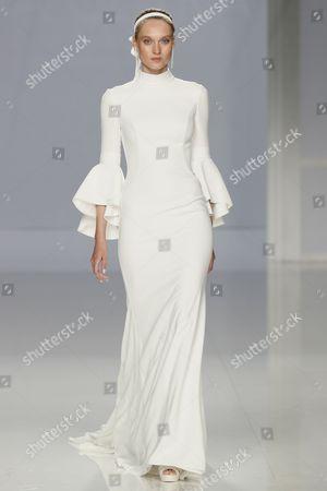 Editorial picture of Rosa Clara show, Runway, Bridal Fashion Week, Barcelona, Spain - 25 Apr 2017