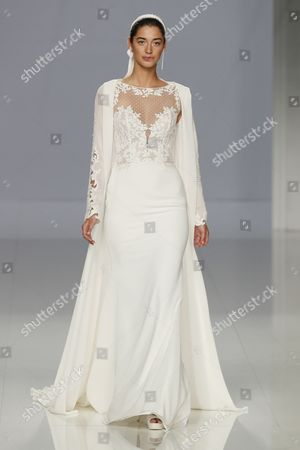 Editorial image of Rosa Clara show, Runway, Bridal Fashion Week, Barcelona, Spain - 25 Apr 2017