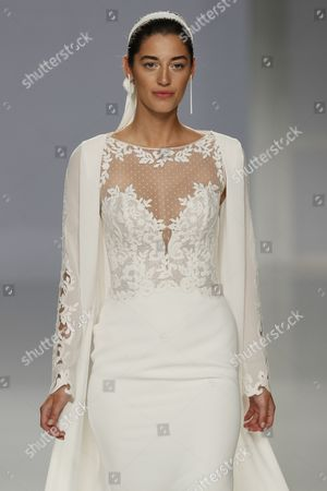Stock Image of Mariana Downing on the catwalk
