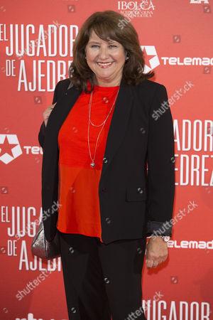 Editorial picture of 'El Jugador de Ajedrez' film premiere, Madrid, Spain - 25 Apr 2017