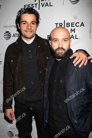 Christopher Abbott and Antonio Campos
