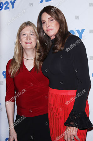 Editorial photo of Caitlyn Jenner and Jennifer Finney Boylan in Converstaion at 92y, New York - 25 Apr 2017