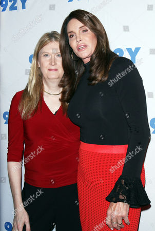 Stock Picture of Jennifer Finney Boylan and Caitlyn Jenner