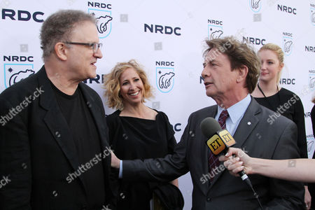 Stock Picture of Albert Brooks and Martin Short