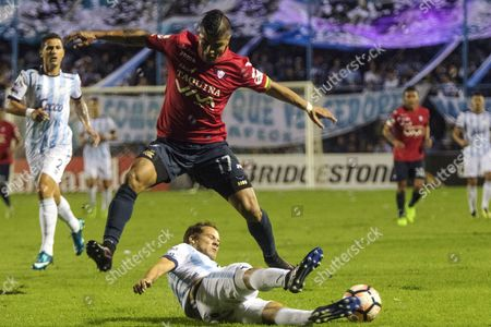 Stock Photo of Nery Leyes and Gabriel Rios