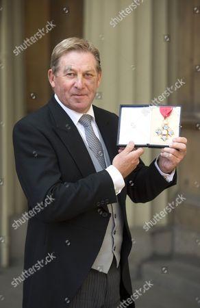 Equestrian, Nicholas David Skelton with his CBE