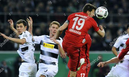 David Angel Abraham (Eintracht), Nico Elvedi (Gladbach), Andreas Christensen (Gladbach)