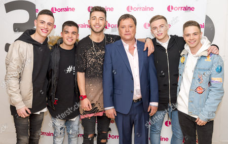 Editorial picture of 'Lorraine' TV show, London, UK - 26 Apr 2017