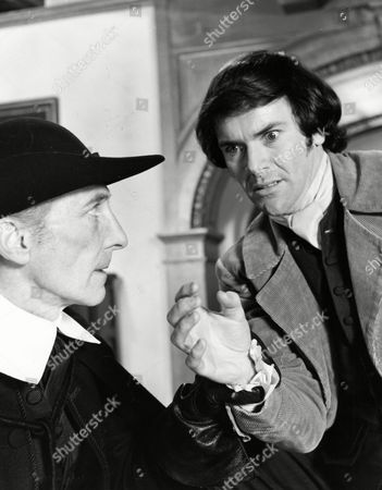 'Twins of Evil' - Peter Cushing and David Warbeck