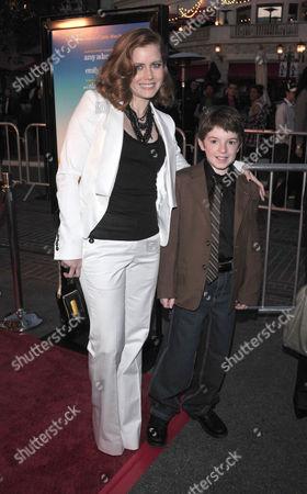 Amy Adams and Jason Spevack
