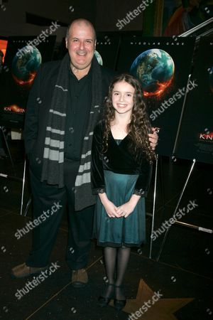 director Alex Proyas and Lara Robinson