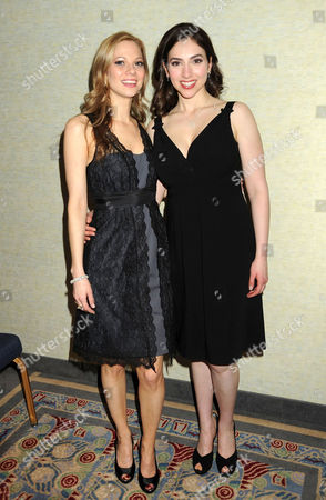 Tamara Braun and Eden Riegel