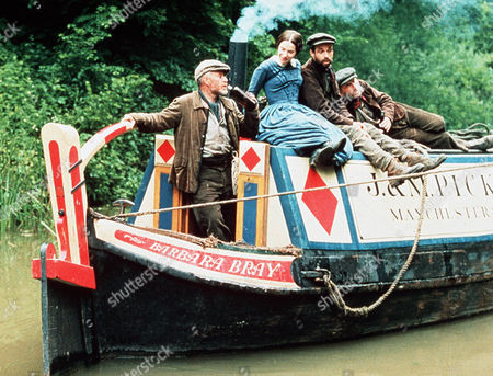 'Inspector Morse'  - Episode: 'The Wench is Dead' -  Paul Mari as Rory Jack Oldfield and Juliet Cowan as Joanna Franks who begins her fateful journey on the barge