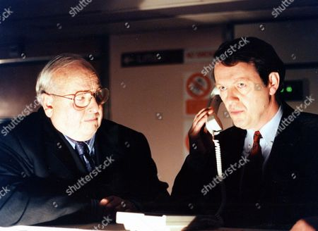 'Inspector Morse' - Episode: 'The Remorseful Day' -  James Grout and Kevin Whately