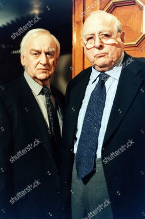 Stock Photo of 'Inspector Morse' - Episode: 'The Remorseful Day' -  John Thaw and James Grout