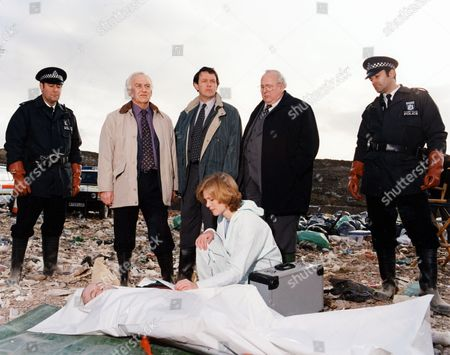 'Inspector Morse' - Episode: 'The Remorseful Day' -  John Thaw, Kevin Whately, James Grout and Clare Holman