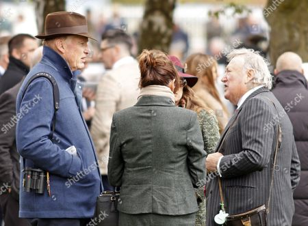 John Gosden and Anthony Oppenheimer discuss the chances of CRACKSMAN before winning The Investec Derby Trial Stakes Epsom