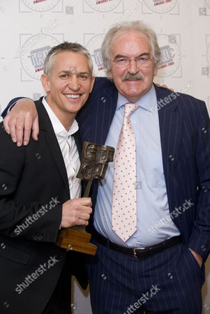Gary Lineker and Des Lynam