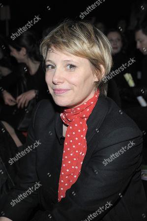 TV presenter Maitena Biraben