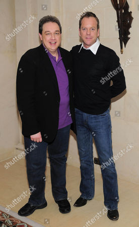 Oliver Kalkofe and Kiefer Sutherland