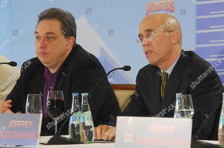 Oliver Kalkofe and Jeffrey Katzenberg