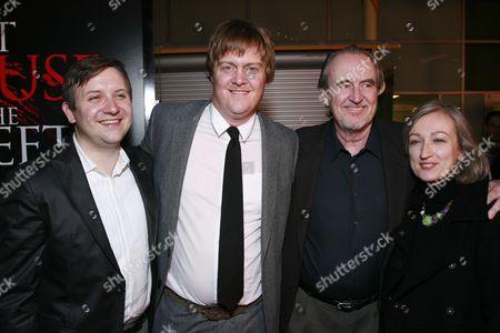 Cody Zwieg, Jonathan Craven, Wes Craven and Iya Labunka