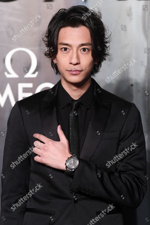 Editorial picture of Omega 'Lost in Space' anniversary party, Arrivals, Tate Modern, London, UK - 26 Apr 2017