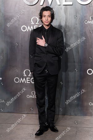 Editorial photo of Omega 'Lost in Space' anniversary party, Arrivals, Tate Modern, London, UK - 26 Apr 2017