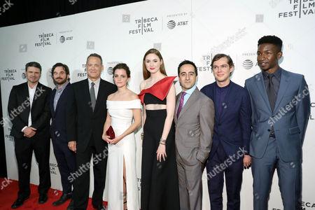 James Ponsoldt, Tom Hanks, Emma Watson, Karen Gillan, Amir Talai, Ellar Coltrane, Mamadou Athie