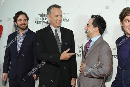 James Ponsoldt, Tom Hanks, Amir Talai, Ellar Coltrane