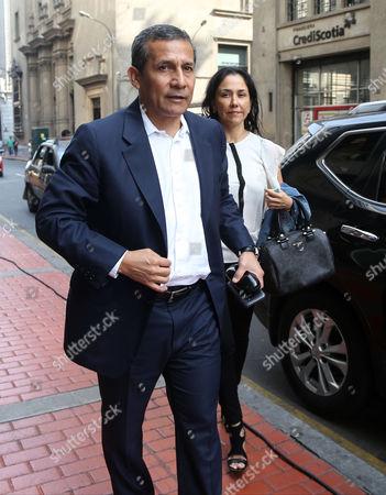Stock Image of Ollanta Humala and Nadine Heredia