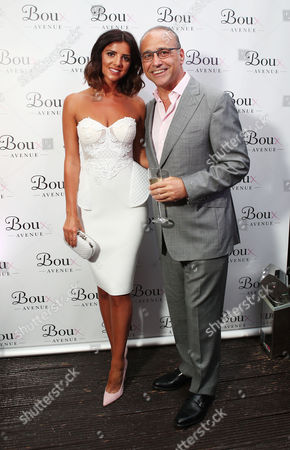 Lucy Mecklenburgh and Theo Paphitis