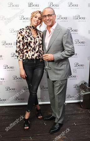 Stacey Solomon and Theo Paphitis