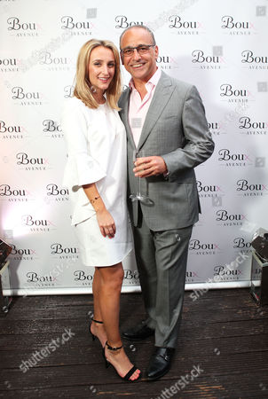 Tiffany Watson and Theo Paphitis