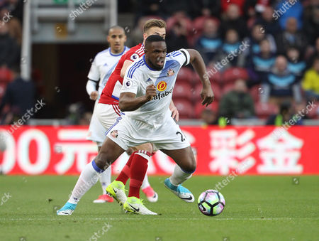 Victor Anichebe of Sunderland during the Premier League match between Middlesbrough and Sunderland on Wednesday 26th April 2017 at The Riverside Stadium, Middlesbrough