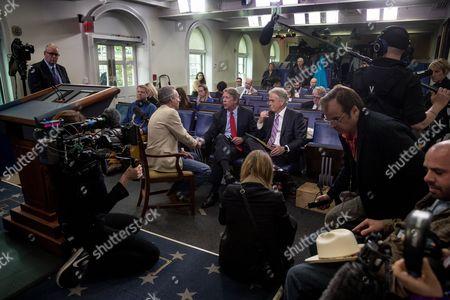 Editorial picture of Trump White House, Washington, USA - 26 Apr 2017